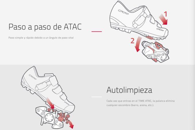 pedales automáticos ciclismo